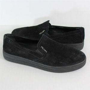 PRADA Spell Out Skate Slip On Shoes 5802 M345